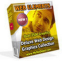 Thumbnail Web Elements Deluxe Web Design Graphics Collection