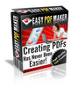 Thumbnail Easy PDF Maker - With Master Resell Rights