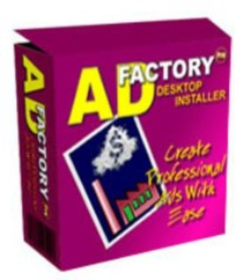Product picture Ads Factory Pro Desktop Software with Master Resell Rights