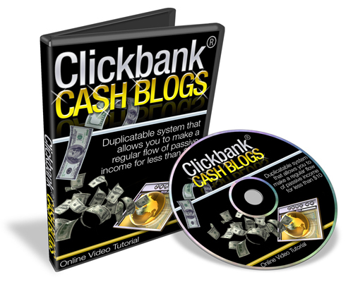 Product picture Clickbank Cash Blogs With Mrr.zip