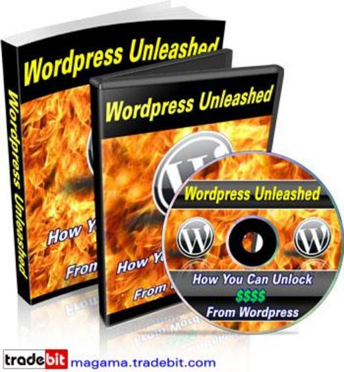 Product picture Wordpress Unleashed - WORDPRESS Money Making Secrets