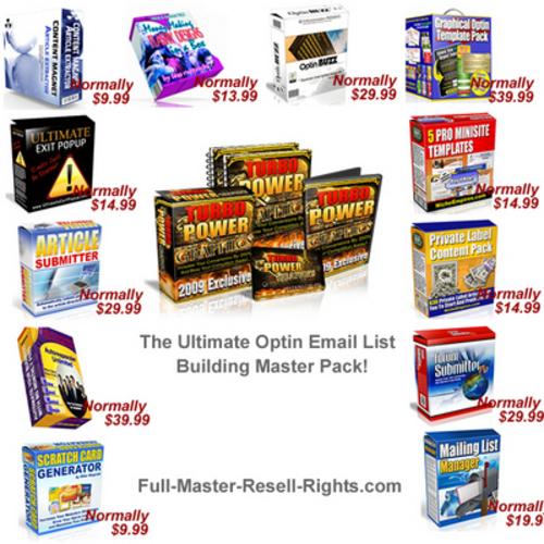 Product picture The Massive Optin List Building Package With Resale Rights.zip