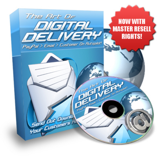 Product picture The Art Of Digital Delivery - With Master Resell Rights