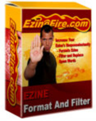 Product picture Ezine Filter And Format Software & Master Resale Rights
