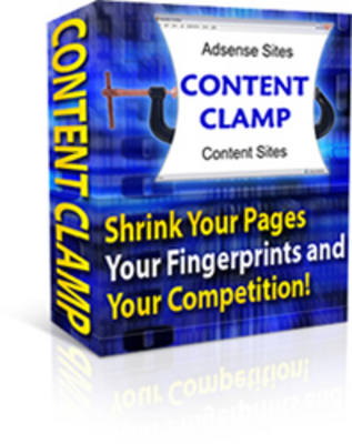 Product picture Content Clamp - With Master Resell Rights