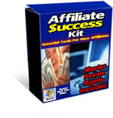 Product picture Affiliate Success Kit With Master Resell Rights