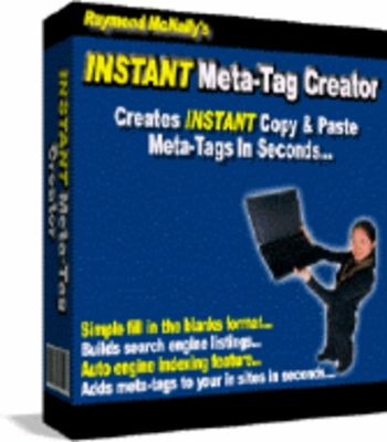Product picture Instant Meta-Tag Creator