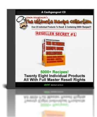 Product picture The Ultimate Recipe Book Collection & Master Resell Rights