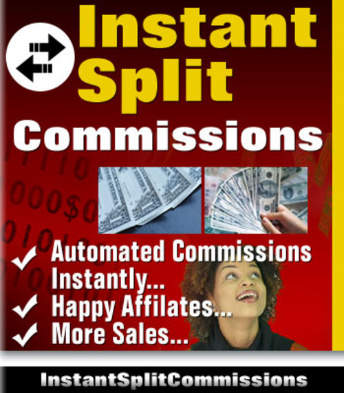 Product picture Instant Split Commissions - PHP Affiliate Script With MRR
